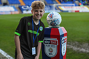 FGR match day mascot during the EFL Sky Bet League 2 play off first leg match between Tranmere Rovers and Forest Green Rovers at Prenton Park, Birkenhead, England on 10 May 2019.