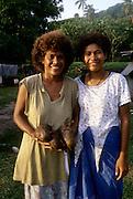 Fijian woman, Kadavu, Fiji
