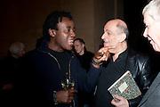 JOHN AKOMFRAH; MICHAEL AMINIAN, Migrations private view, Tate Britain. London. 30 January 2012.