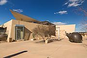 Exterior of the Albuquerque Museum in Albuquerque, New Mexico.