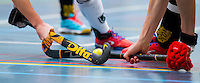 BARNEVELD - Hoofdklasse zaalhockey dames. Den Bosch-Rotterdam (1-0). stockphoto COPYRIGHT KOEN SUYK