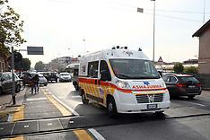 20171026 INCIDENTE AUTO SCOOTER AUTOBUS VIA BOLOGNA