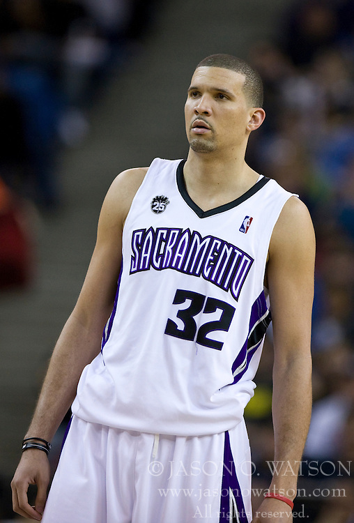 February 28, 2010; Sacramento, CA, USA;  Sacramento Kings guard Francisco Garcia (32) during the third quarter against the Los Angeles Clippers at the ARCO Arena.  Sacramento defeated Los Angeles 97-92.
