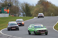 #88 Nathan BOLTON VW Golf GTi Mk2 during Teekay Couplings Mk2 Production Gti Championship - Race 4  as part of the BRSCC Oulton Park Season Opener at Oulton Park, Little Budworth, Cheshire, United Kingdom. April 09 2016. World Copyright Peter Taylor/PSP. Copy of publication required for printed pictures.  Every used picture is fee-liable. http://archive.petertaylor-photographic.co.uk