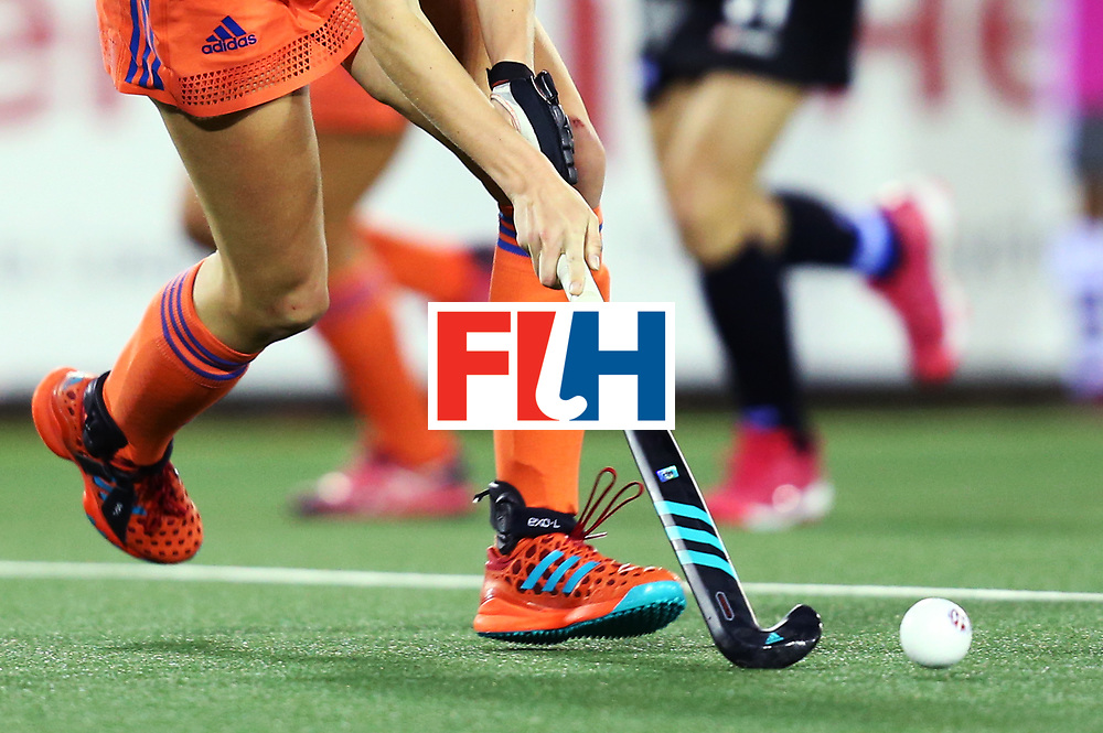 New Zealand, Auckland - 17/11/17  <br /> Sentinel Homes Women&rsquo;s Hockey World League Final<br /> Harbour Hockey Stadium<br /> Copyrigth: Worldsportpics, Rodrigo Jaramillo<br /> Match ID: 10292 - NED vs NZL<br /> Photo: (29) KREKELAAR Maartje attack