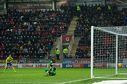 January 26, 2019 - Rotherham, England, United Kingdom - Mateusz Klich of Leeds United scores his team's second goal during the Sky Bet Championship match between Rotherham United and Leeds United at the New York Stadium, Rotherham on Saturday 26th January 2019. (Credit Image: © Mark Fletcher/NurPhoto via ZUMA Press)
