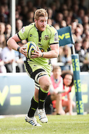 GJ Van Velze of Northampton Saints in action during the LV Cup Final match at Sandy Park, Exeter<br /> Picture by Andy Kearns/Focus Images Ltd 0781 864 4264<br /> 16/03/2014