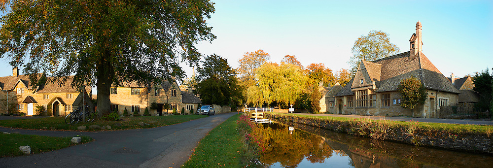 Early evening, Lower Slaughter