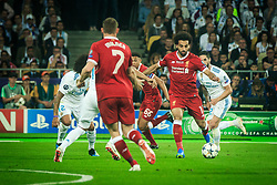Mohamed Salah of Liverpool during the UEFA Champions League final football match between Liverpool and Real Madrid at the Olympic Stadium in Kiev, Ukraine on May 26, 2018.Photo by Sandi Fiser / Sportida