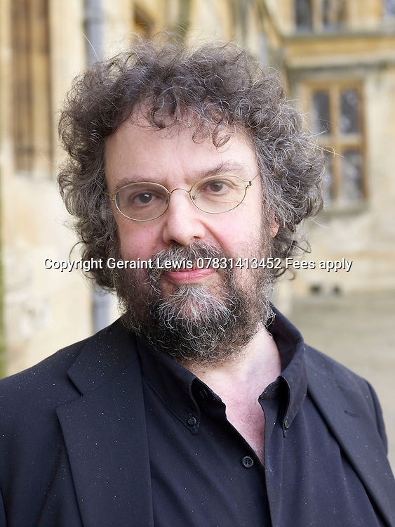 Stephen Poliakoff,screenwriter,director and playwrite at The Oxford Literary Festival in Christ Church College in Oxford. CREDIT Geraint Lewis