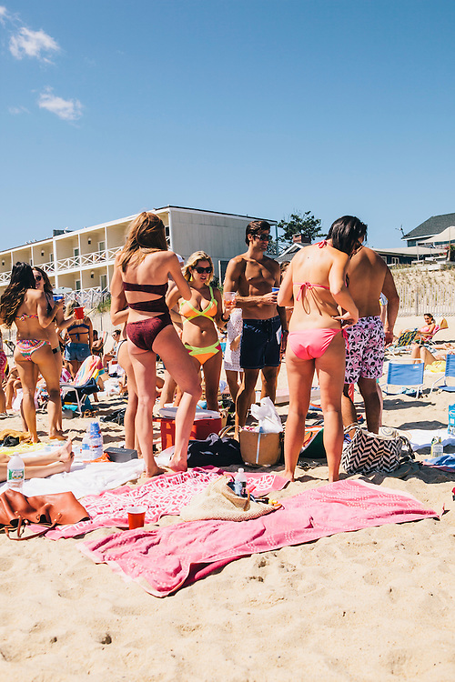Labor Day Weekend at Kirk Park Beach, Montauk, East Hampton, NY