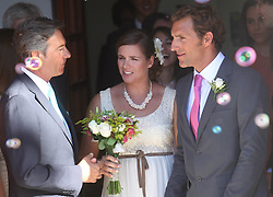 Spanish Surfer and Olympic 2012<br /> Gold Medal winner Marina Alabau gets married to her French trainer  Alexander Guyader at Tarifa City town hall, Spain on June 01, 2013. Photo by Jusus Marin / Sevilla Press / DyD Fotografos. SPAIN OUT