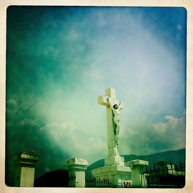 The ruins of the National Cathedral on Wednesday, April 4, 2012 in Port-au-Prince, Haiti.