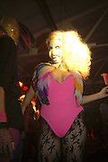 Crazy Girl, The Bistrotheque Annual Drag Ball , Bistrotheque, 23 Wadeson Street, London, E2, 15 August 2006. TONE TIME USE ONLY - DO NOT ARCHIVE  © Copyright Photograph by Dafydd Jones 66 Stockwell Park Rd. London SW9 0DA Tel 020 7733 0108 www.dafjones.com