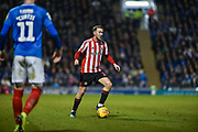 Sunderland Midfielder, Aiden McGeady (19) during the EFL Sky Bet League 1 match between Portsmouth and Sunderland at Fratton Park, Portsmouth, England on 22 December 2018.