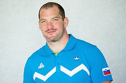 Matjaz Ceraj, judo during presentation of Slovenian Team for Baku 2015 European Games,  on June 4, 2015 in Koper, Slovenia. Photo by Vid Ponikvar / Sportida
