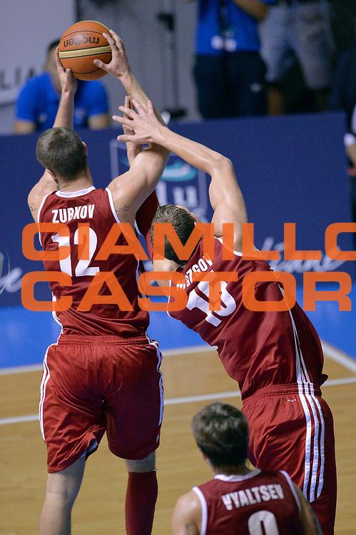 DESCRIZIONE : Cagliari Qualificazione Eurobasket 2015 Qualifying Round Eurobasket 2015 Italia Russia Italy Russia<br /> GIOCATORE : Andrey Zubkov Timofey Mozgov<br /> CATEGORIA : Rimbalzo<br /> EVENTO : Cagliari Qualificazione Eurobasket 2015 Qualifying Round Eurobasket 2015 Italia Russia Italy Russia<br /> GARA : Italia Russia Italy Russia<br /> DATA : 24/08/2014<br /> SPORT : Pallacanestro<br /> AUTORE : Agenzia Ciamillo-Castoria/Max.Ceretti<br /> Galleria: Fip Nazionali 2014<br /> Fotonotizia: Cagliari Qualificazione Eurobasket 2015 Qualifying Round Eurobasket 2015 Italia Russia Italy Russia<br /> Predefinita :