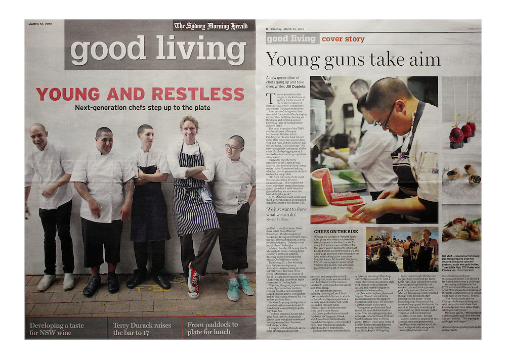 Good Living, The Sydney Morning Herald- 2010