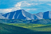 Ogilvie Mountains along the Dempster Highway<br /> , Dempster HIghway, Yukon, Canada