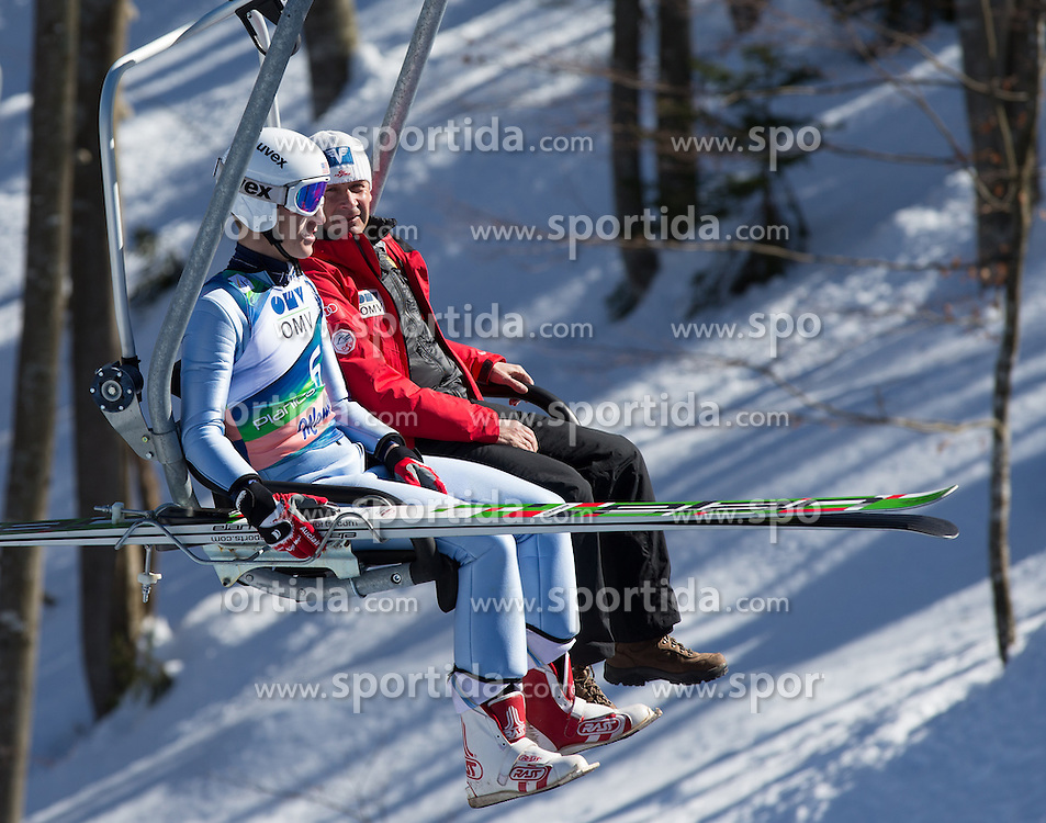 22.03.2013, Planica, Kranjska Gora, SLO, FIS Ski Sprung Weltcup, Skifliegen, im Bild Nicholas Fairall (USA) // Nicholas Fairall of the USA during the FIS Skijumping Worldcup Individual Flying Hill, Planica, Kranjska Gora, Slovenia on 2013/03/22. EXPA Pictures © 2012, PhotoCredit: EXPA/ Johann Groder