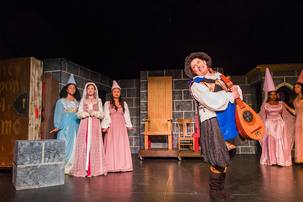 """Once Upon a Mattress"" Presented by Bay Area Stage. Photo © Mike Padua"