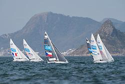 SEGUIN Damien, FRA, 1 Person Keelboat, 2.4mR, Sailing, Voile, SMITH Dee, USA, BINA Daniel, CZE, FERNANDEZ OCAMPO Juan, ARG, ERIKSTAD Bjornar, NOR, FJELDDAHL Fia, SWE à Rio 2016 Paralympic Games, Brazil