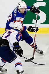 Marcel Rodman of Slovenia at IIHF Ice-hockey World Championships Division I Group B match between National teams of Slovenia and Korea, on April 21, 2010, in Tivoli hall, Ljubljana, Slovenia. (Photo by Matic Klansek Velej / Sportida)