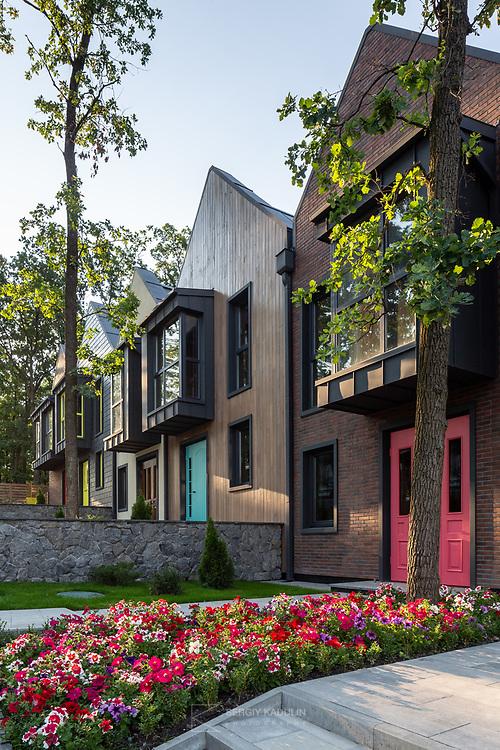 Архитектурная фотосъемка таунхаусов Oak Grove House в г. Ирпень.<br /> Архитектор: Юрий Самсонов