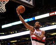 Mar. 21 2010; Phoenix, AZ, USA; Portland Trailblazers forward Marcus Camby (21) puts up a shot in the first half at the US Airways Center.   Mandatory Credit: Jennifer Stewart-US PRESSWIRE.