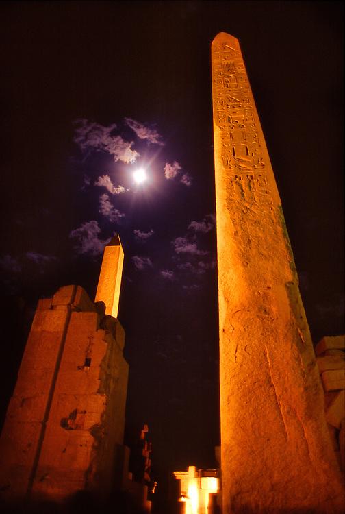 Tuthmosis Obelisks, Karnak Temple, Luxor, Egypt