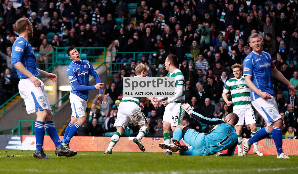 Celtic v St.Johnstone in the Ladbrokes Premiership....Gary Mackay-Steven opens the scoring for Celtic.....(c) STEPHEN LAWSON | SportPix.org.uk