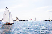 Bagatelle sailing in the Museum of Yachting Classic Yacht Regatta, day two.
