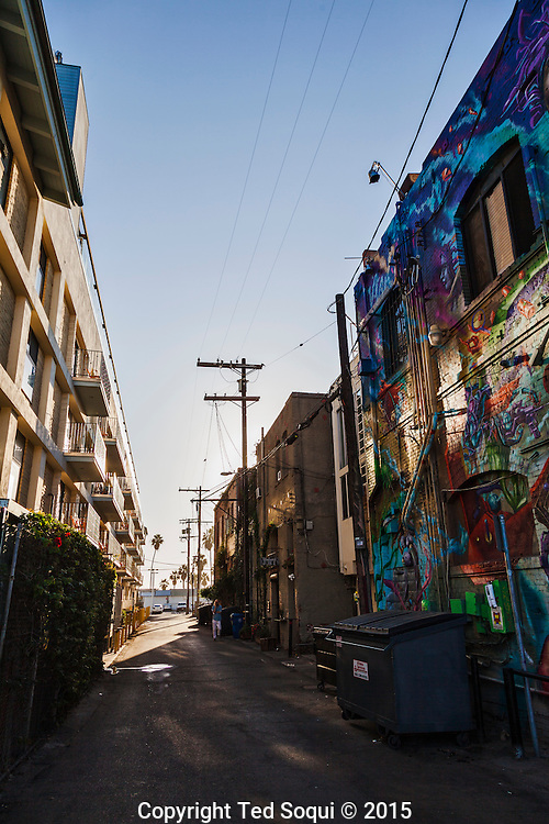 New and old apartment buildings near Venice Beach.<br /> Venice Beach story for LA Weekly