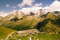 Near the village of Arolla, Haute Route, Switzerland