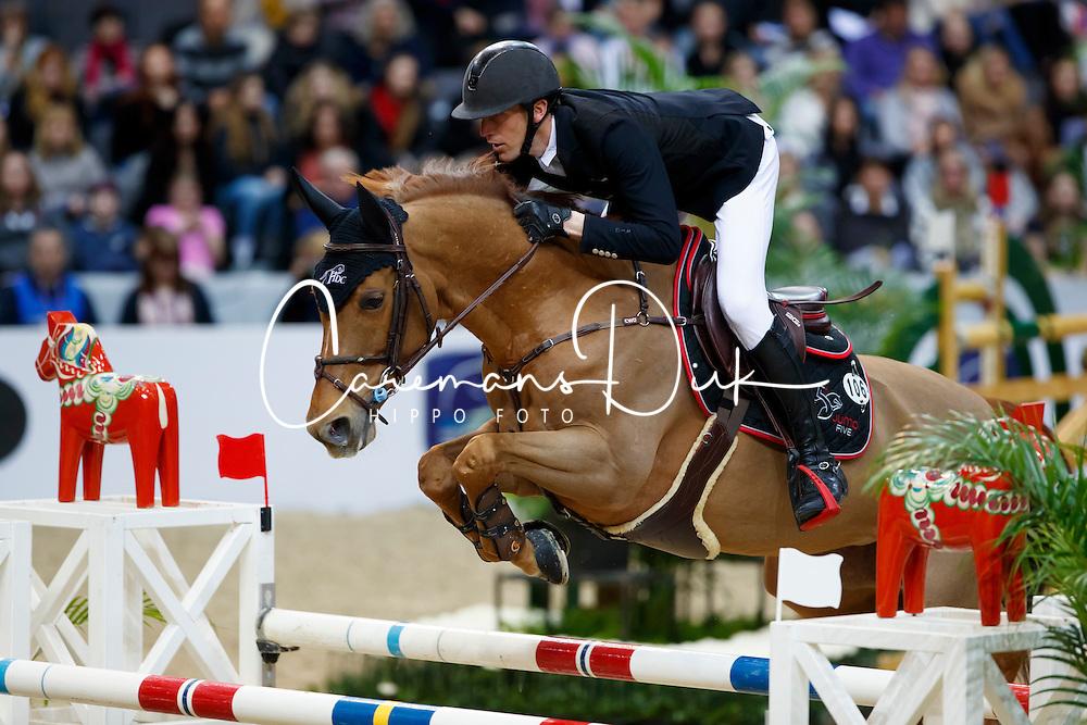 Staut Kevin, FRA, Ayade de Septon et HDC<br /> Gothenburg Horse Show FEI World Cups 2017<br /> &copy; Hippo Foto - Stefan Lafrentz<br /> 24/02/17