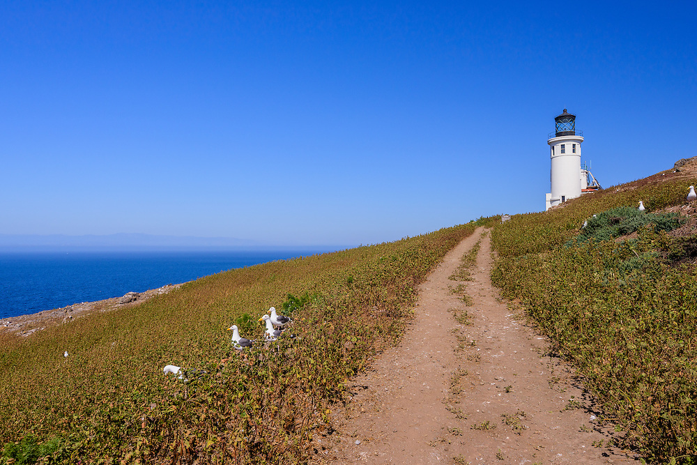 Anacapa Island Lighthouse, Channel Islands National Park, California,Channel Islands National Park, California