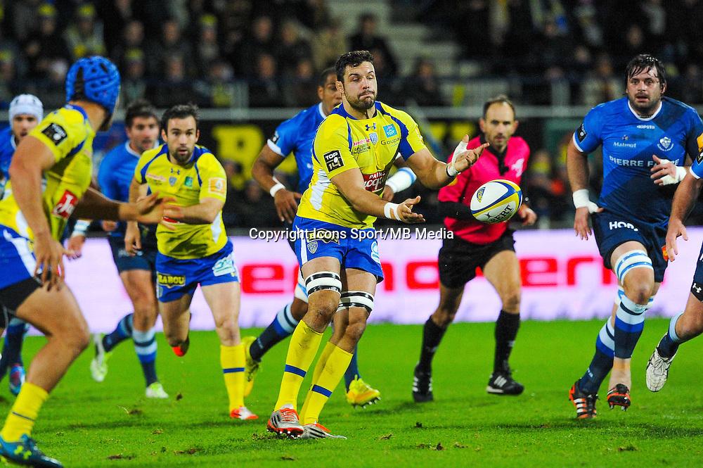 Damien CHOULY  - 20.12.2014 - Clermont / Castres - 13eme journee de Top 14 -<br /> Photo : Jean Paul Thomas / Icon Sport