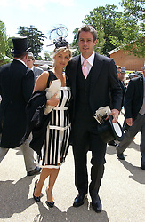 JAMIE & LOUISE REDNAPP at the 3rd day - Ladies Day of Roayl Ascot 2006 on 22nd June 2006.<br />