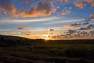 Sunset in Pinar del Rio, Cuba.