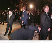 Jonathan Becker & Graydon Carter  at the Vanity Fair Oscar Night Party Mortons,  Los Angeles. 23 March 1998. film 98171f32<br />© Copyright Photograph by Dafydd Jones<br />66 Stockwell Park Rd. London SW9 0DA<br />Tel 0171 733 0108