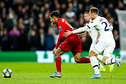 Philippe Coutinho of Bayern Munich is challenged by Christian Eriksen of Tottenham Hotspur - Rogan/JMP - 01/10/2019 - FOOTBALL - Tottenham Hotspur Stadium - London, England - Tottenham Hotspur v Bayern Munich - UEFA Champions League Group B.