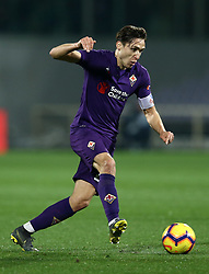 February 27, 2019 - Florence, Italy - Fiorentina v Atalanta : Italian Cup semifinal .Federico Chiesa of Fiorentina at Artemio Franchi Stadium in Florence, Italy on February 27, 2019. (Credit Image: © Matteo Ciambelli/NurPhoto via ZUMA Press)
