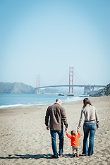 Yanofsky Family Photos | Baker Beach The Presidio of San Francisco