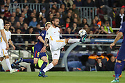 DANIELE DE ROSSI of AS Roma during the UEFA Champions League, quarter final, 1st leg football match between FC Barcelona and AS Roma on April 4, 2018 at Camp Nou stadium in Barcelona, Spain - Photo Manuel Blondeau / AOP Press / ProSportsImages / DPPI