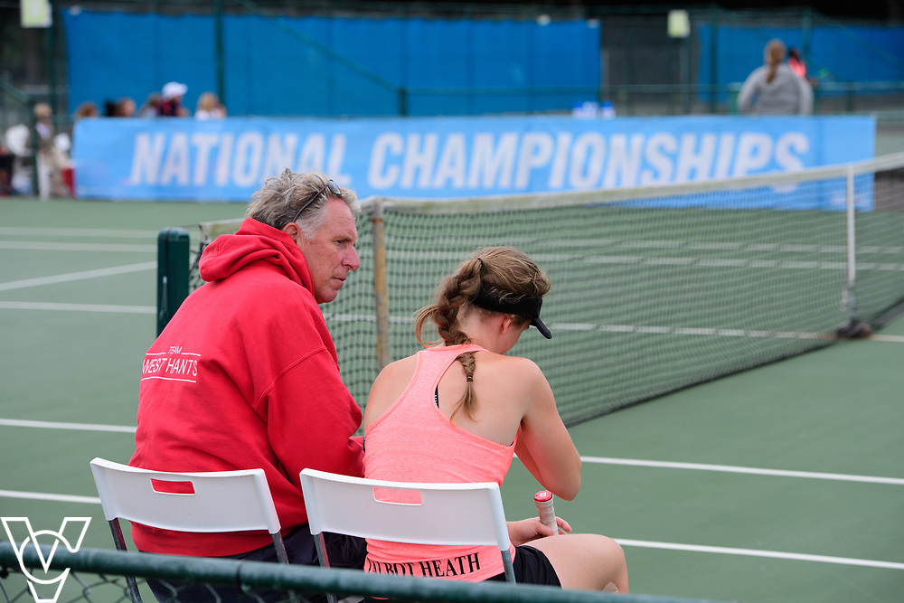 Aberdare Cup - Talbot Heath School A [2] - Erin Richardson<br /> <br /> Team Tennis Schools National Championships Finals 2017 held at Nottingham Tennis Centre.  <br /> <br /> Picture: Chris Vaughan Photography for the LTA<br /> Date: July 14, 2017