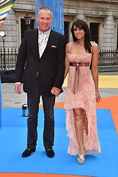 Jackie St.Clair and Carl Michaelson at the Royal Academy of Arts Summer Exhibition Preview Party 2017, Burlington House, London England. 7 June 2017.