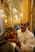 Emirates Palace Hotel. 7 Star luxury, state-owned and managed by Kempinski. Mezzaluna Italian restaurant. Executive Sous-Chef Luigi Antonio Piu...