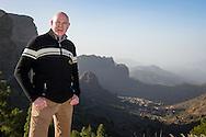 GRAN CANARIA, Maspalomas, Spanje, voetbal, seizoen 2014-2015, 10-1-2015, winterstop in Nederland, met algemeen directeur van PSV Toon Gerbrands naar de Roque Nublo.