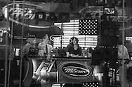 New York Nasdaq building in times square. the Television studio / Nasdaq building, reflets sur les vitres du studio de television