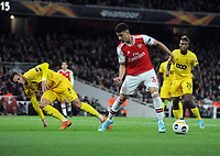 Football - 2019 / 2020 UEFA Champions League - Group F: Arsenal vs. Standard Liege<br /> <br /> Gabriel Martinelli of Arsenal moves in to score his second goal , at The Emirates Stadium.<br /> <br /> COLORSPORT/ANDREW COWIE